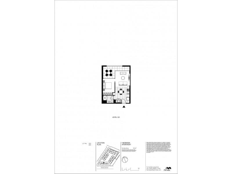 "Apartment 285 Ross Street ""Locarno building"", Glebe NSW 2037 Floorplan"