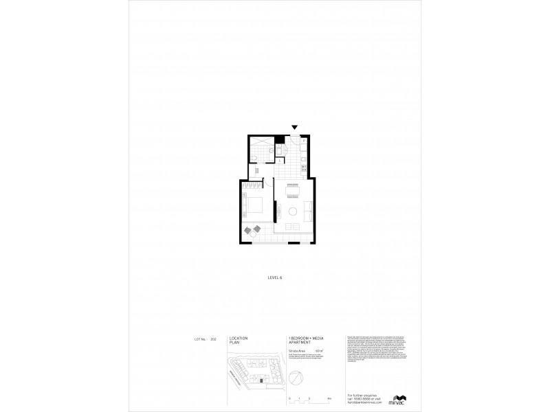 605/17 Gratton Close, Glebe NSW 2037 Floorplan