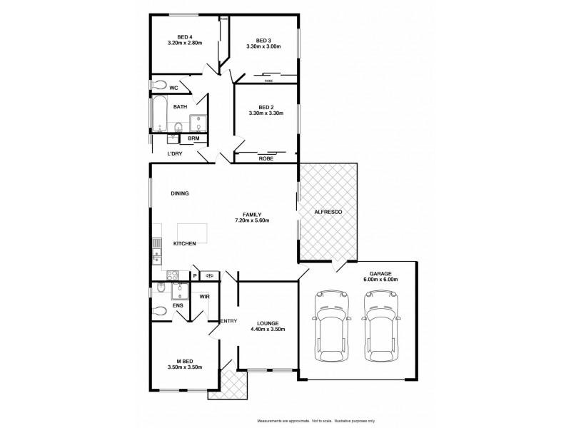 77 Songlark Crescent, Thurgoona NSW 2640 Floorplan