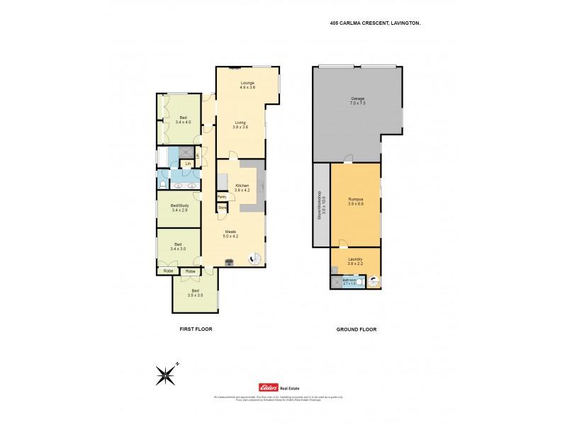 405 Carlma Crescent, Lavington NSW 2641 Floorplan