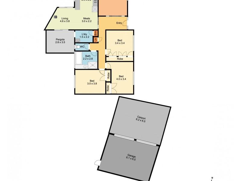 97 Brockley Street, Wodonga VIC 3690 Floorplan