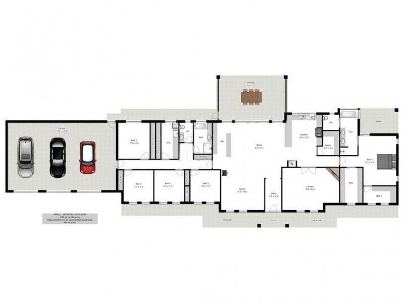 52 Himalaya Drive, Table Top NSW 2640 Floorplan