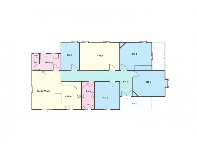 1 Barkly Street, Ararat VIC 3377 Floorplan
