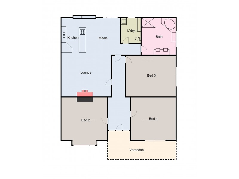 345 Barkly Street, Ararat VIC 3377 Floorplan