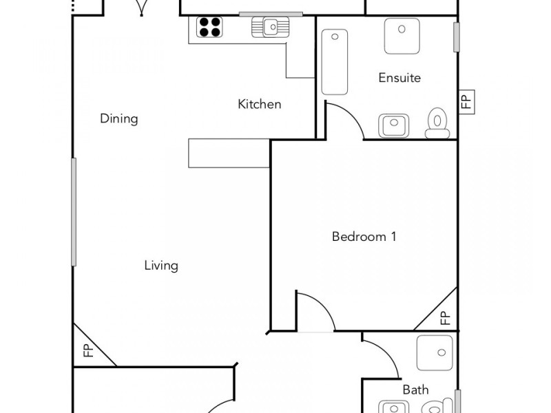 21 Blake Street, Ararat VIC 3377 Floorplan