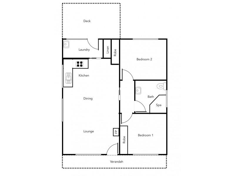 64 Scott Road, Halls Gap VIC 3381 Floorplan