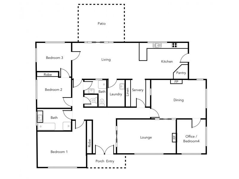 8-10 Barkly Street West, Ararat VIC 3377 Floorplan