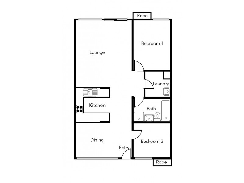 Unit 3/130 Lambert Street, Ararat VIC 3377 Floorplan