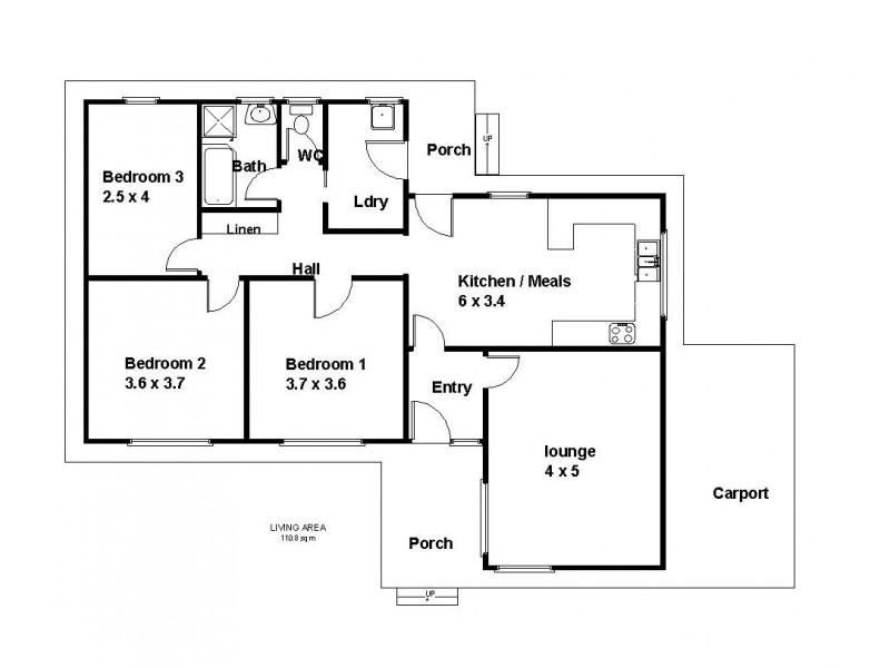 26 Bahnisch Avenue, Berri SA 5343 Floorplan
