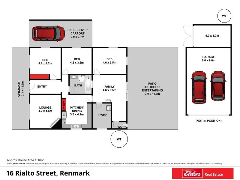 16 Rialto Street, Renmark SA 5341