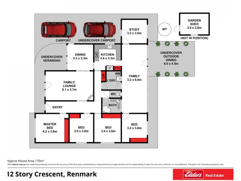 12 Story Crescent, Renmark SA 5341 Floorplan