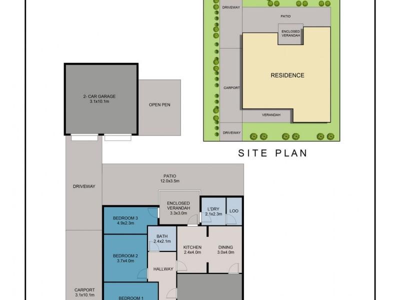 19 GOODE STREET, Dubbo NSW 2830 Floorplan