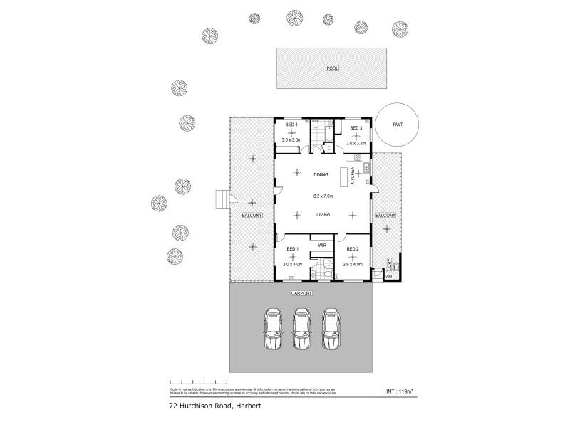 72 Hutchison Road, Herbert NT 0836 Floorplan
