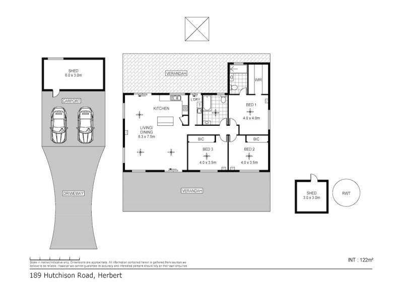 189 Hutchison Road, Herbert NT 0836 Floorplan