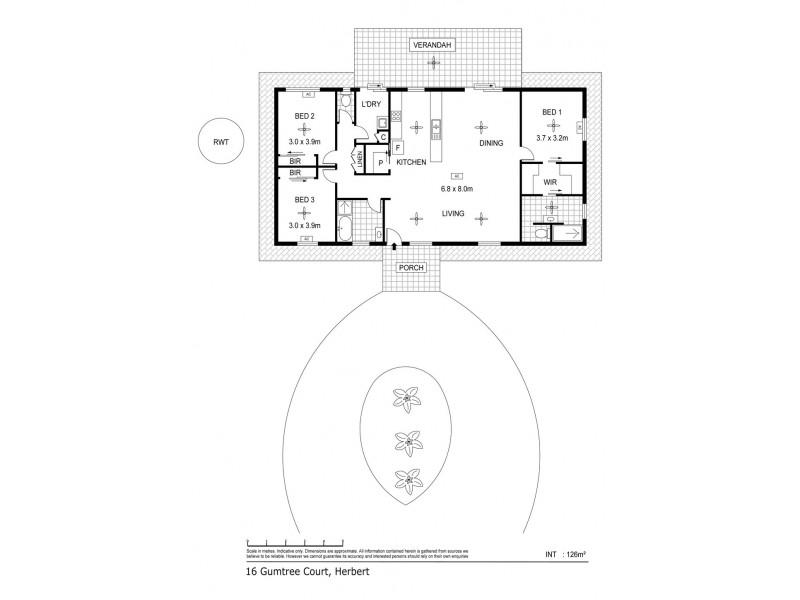 16 Gumtree Court, Herbert NT 0836 Floorplan
