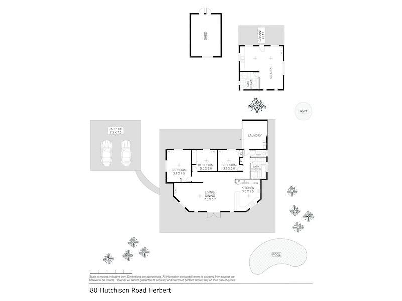 80 Hutchison Road, Herbert NT 0836 Floorplan