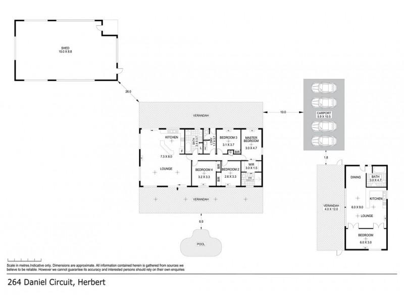 264 Daniel Circuit, Herbert NT 0836 Floorplan