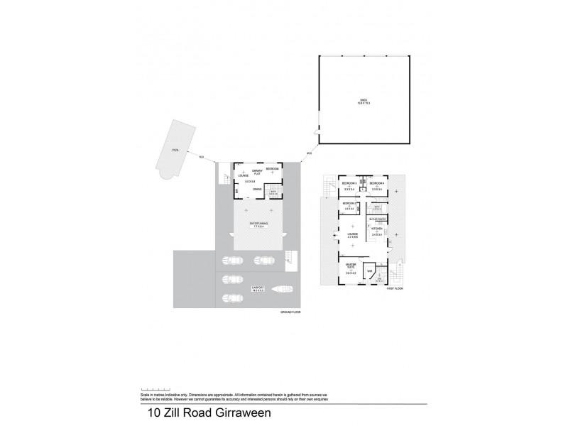10 Zill Road, Girraween NT 0836 Floorplan