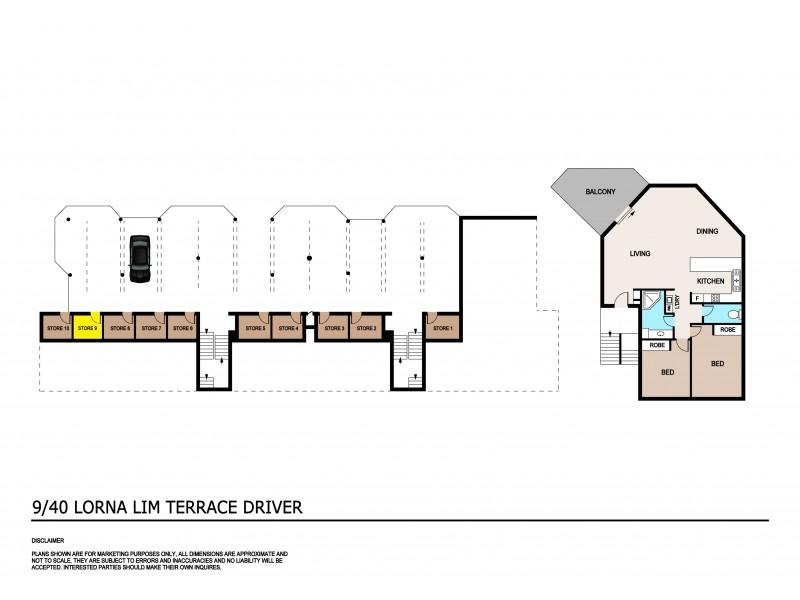 9/40 Lorna Lim Terrace, Driver NT 0830 Floorplan