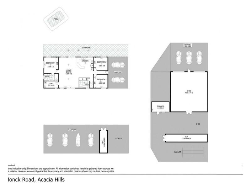 40 Monck Road, Acacia Hills NT 0822 Floorplan