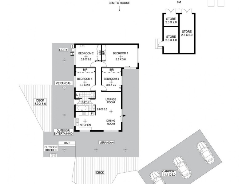 56 Osbeck Road, Virginia NT 0834 Floorplan