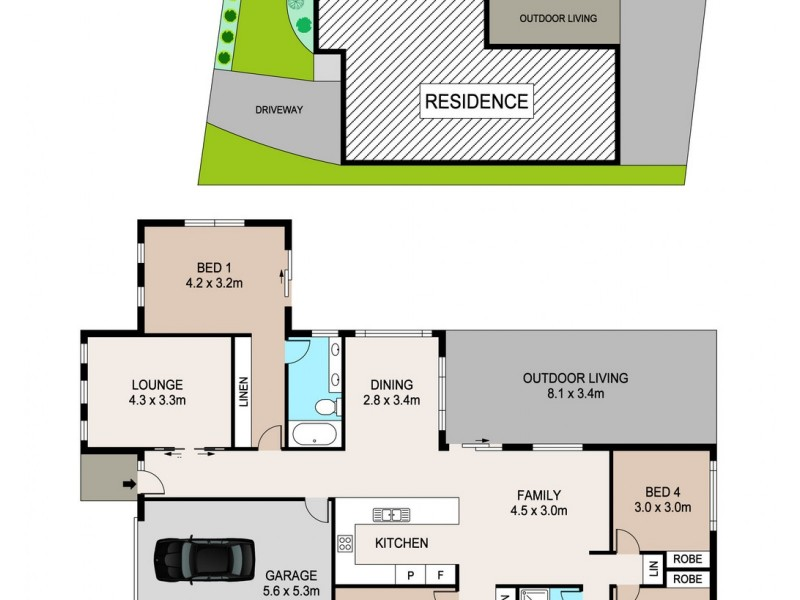 21 Annunciata Street, Bellamack NT 0832 Floorplan