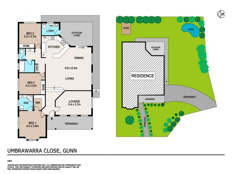 4 Umbrawarra Close, Gunn NT 0832 Floorplan