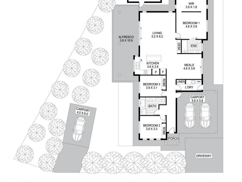 22 Gerardine Crescent, Bellamack NT 0832 Floorplan
