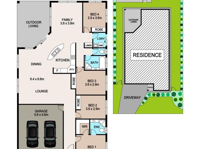 Rosebery NT 0832 Floorplan