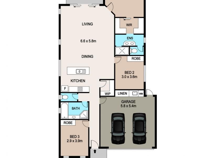 19 Thomson Street, Durack NT 0830 Floorplan