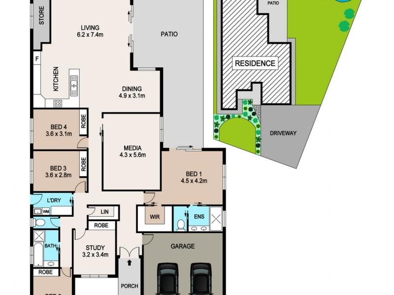 22 Antoninus Street, Bellamack NT 0832 Floorplan