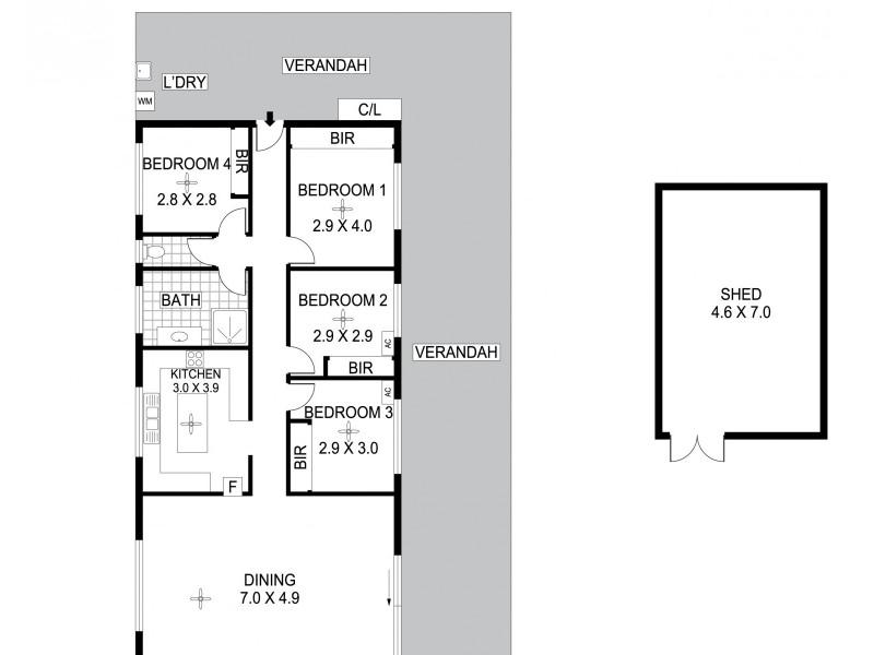 54 Collett Street, Southport NT 0822 Floorplan