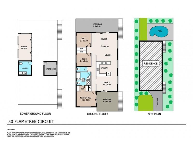 50 Flametree Circuit, Rosebery NT 0832 Floorplan