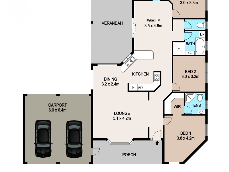 48 Mannikan Court, Bakewell NT 0832 Floorplan