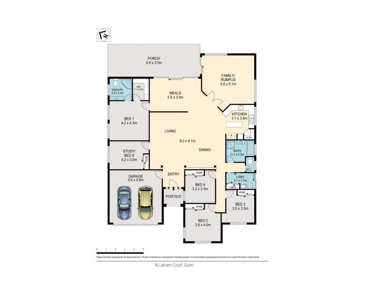 16 Latram Court, Gunn NT 0832 Floorplan