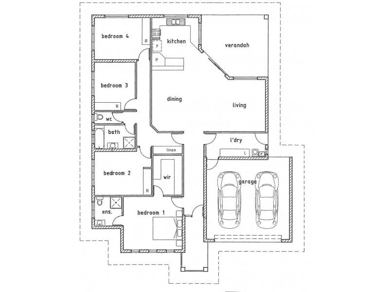 1 Docherty Street, Bellamack NT 0832 Floorplan