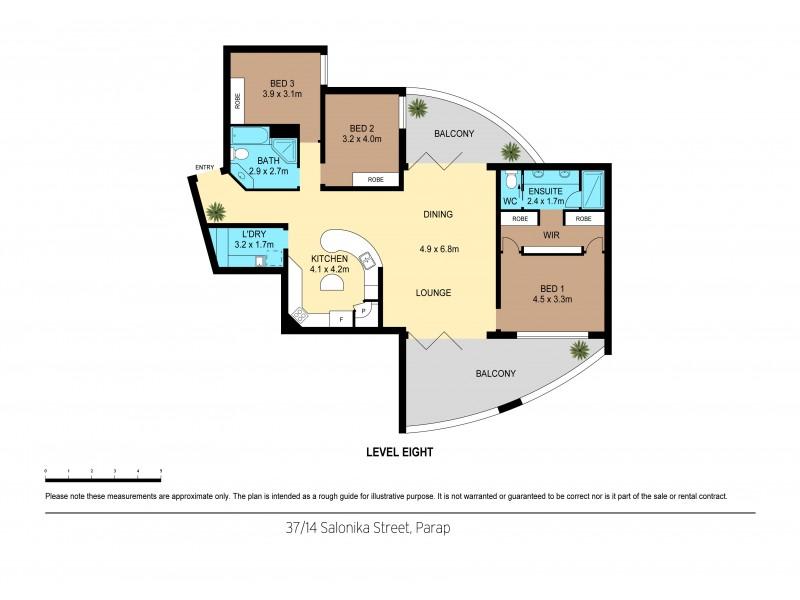 37/14 Salonika Street, Parap NT 0820 Floorplan