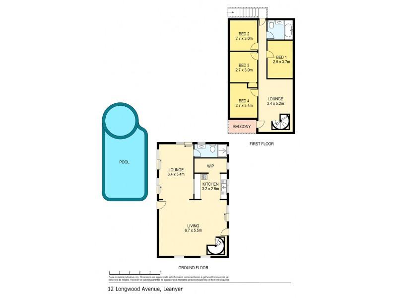 12 Longwood Avenue, Leanyer NT 0812 Floorplan