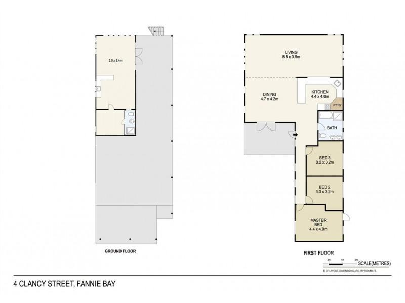 4 Clancy Street, Fannie Bay NT 0820 Floorplan
