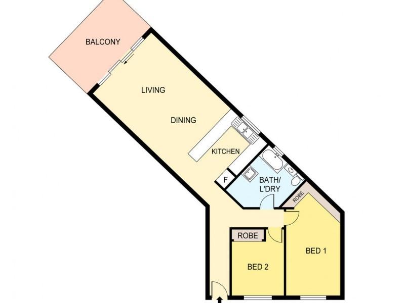 13/278 Casuarina Drive, Rapid Creek NT 0810 Floorplan