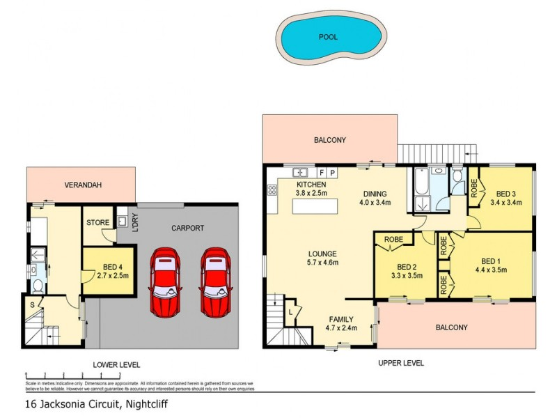 16 Jacksonia Circuit, Nightcliff NT 0810 Floorplan