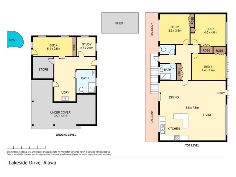 8 Lakeside Drive, Alawa NT 0810 Floorplan