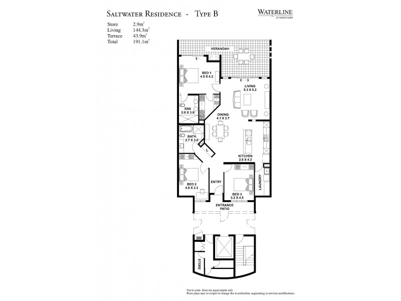 314/71 Progress Drive, Nightcliff NT 0810 Floorplan