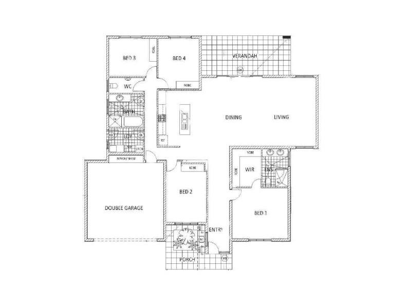 9 Hyacinth Street, Bellamack NT 0832 Floorplan