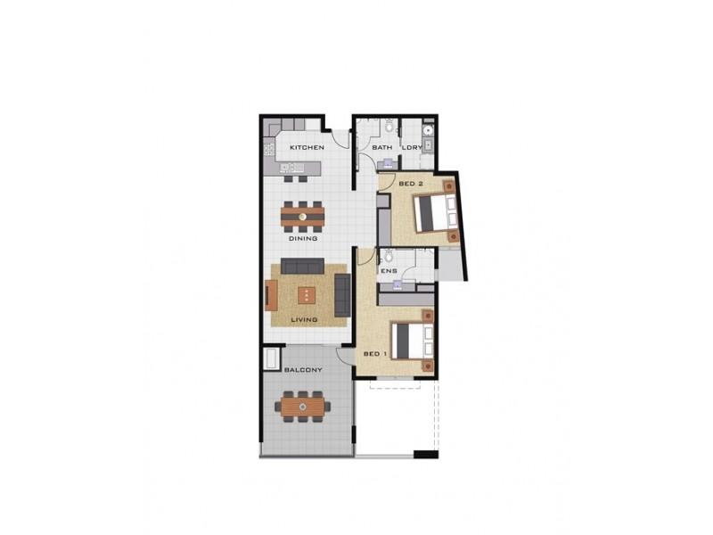 23/2 Mitaros Place, Parap NT 0820 Floorplan