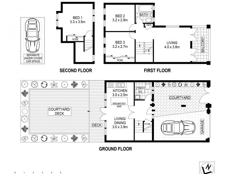 3 Lizzie Webber Place, Birchgrove NSW 2041 Floorplan
