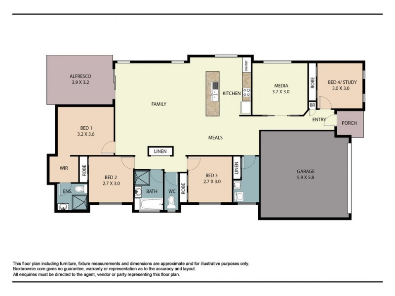 22 Whistler Place, Beerwah QLD 4519 Floorplan