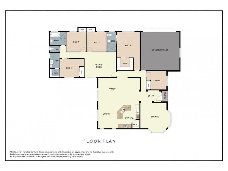 14 Sapphire Court, Beerwah QLD 4519 Floorplan