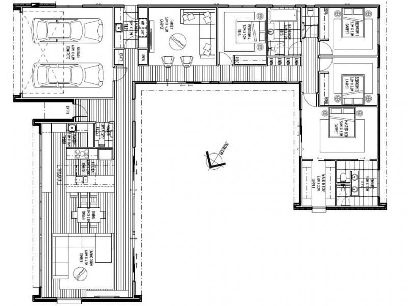 41 Lakeside Drive, Kings Meadows TAS 7249 Floorplan