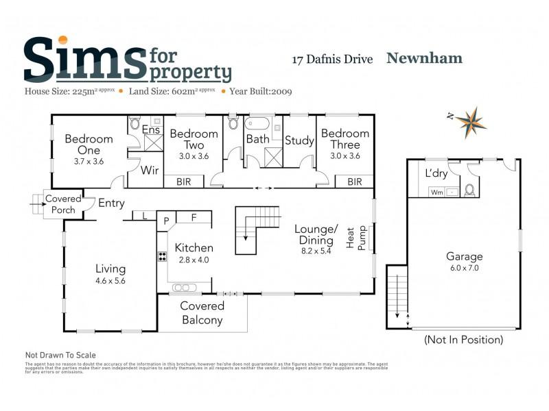 17 Dafnis Drive, Newnham TAS 7248 Floorplan